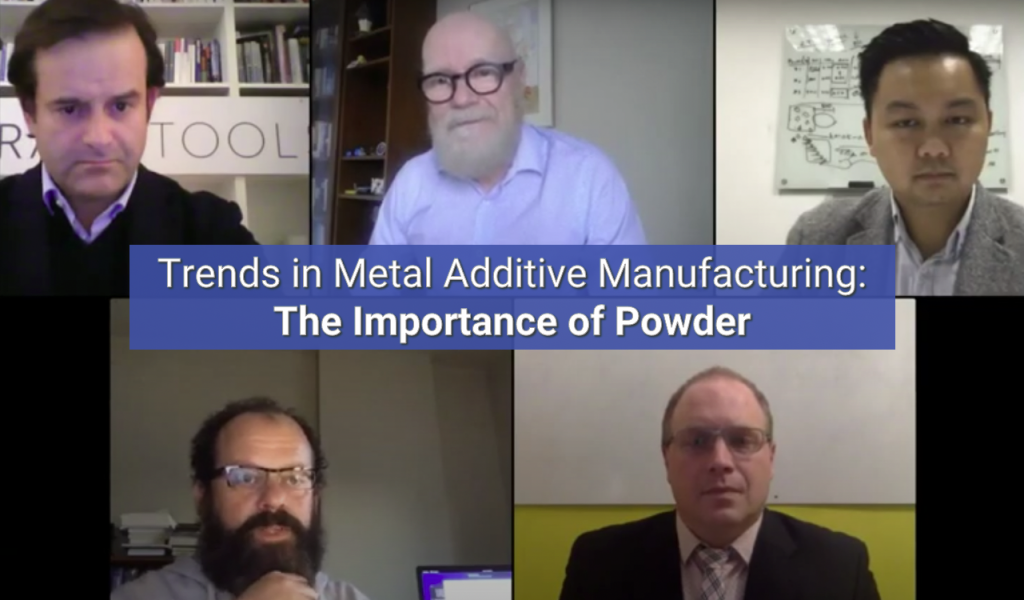 Trends in Metal Additive Manufacturing - The Importance of Powder - An industry panel discussion video