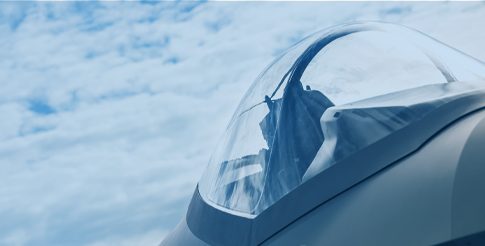 Close up image of fighter jet as a metaphor for reducing the life cycle with Equispheres powders.