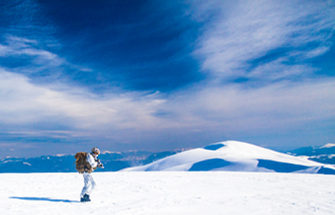 Photo of a soldier on a mission showing the importance of operational readiness in harsh conditions.